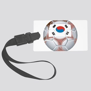 South Korea Soccer Large Luggage Tag