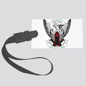 Sudan Coat Of Arms Large Luggage Tag
