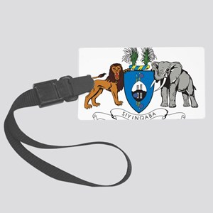 Swaziland Coat Of Arms Large Luggage Tag