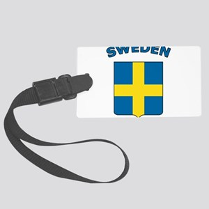 Sweden Large Luggage Tag