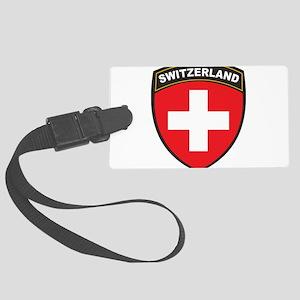 Switzerland Large Luggage Tag