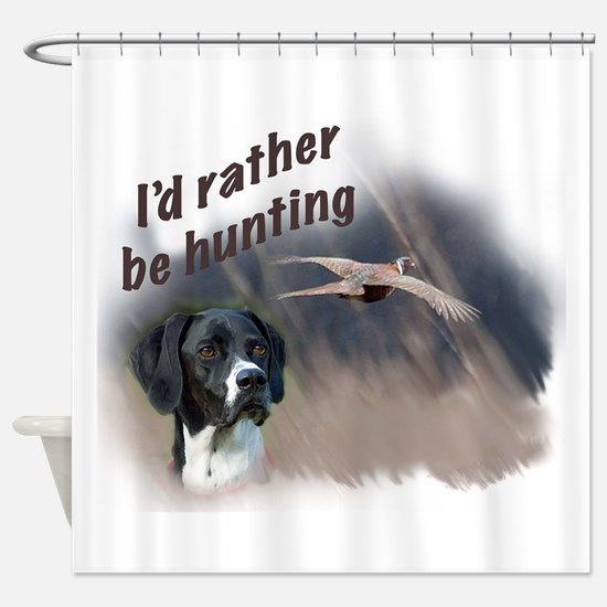 hunting_english_pointer.jpg Shower Curtain