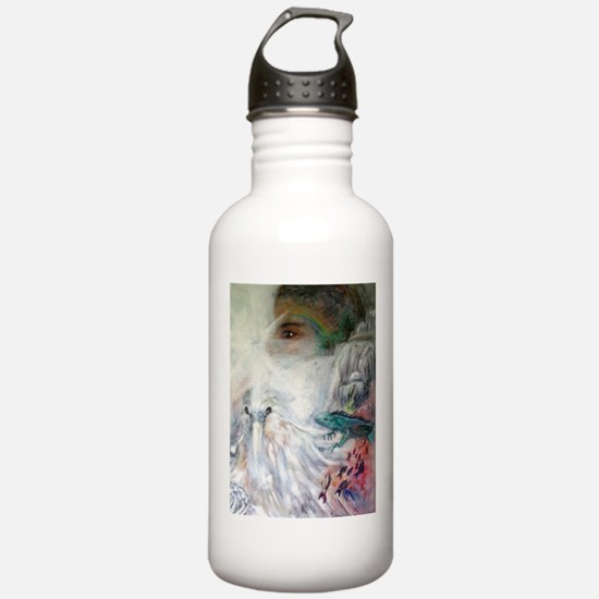 God Made the Earth Water Bottle