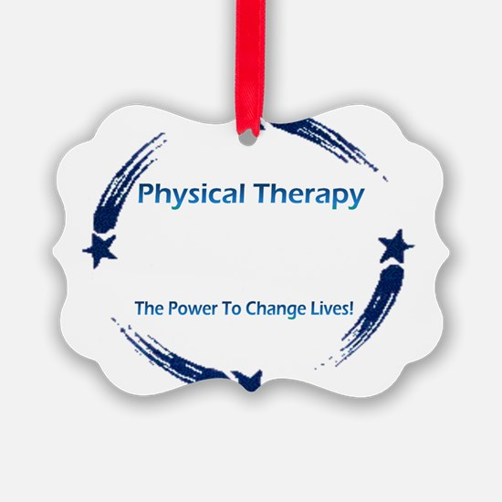 Funny Physical therapy Ornament