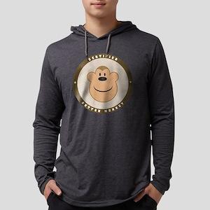 buttonmonkey Mens Hooded Shirt