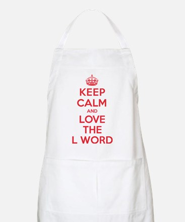 K C Love the L Word Apron
