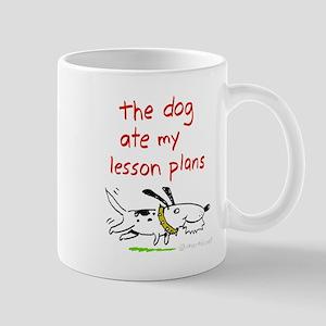 dog-ate-plans Mugs