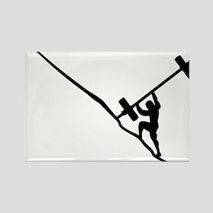 Sisyphus Olympic Tenacity Rectangle Magnet