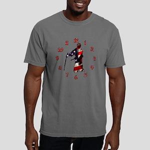 Wall Clock - American Sa Mens Comfort Colors Shirt