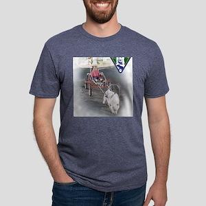 BornToRunRGB Mens Tri-blend T-Shirt
