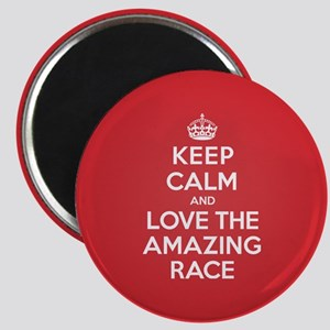 K C Love the Amazing Race Magnet