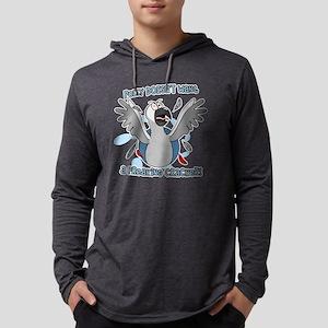 congo_polly_blk Mens Hooded Shirt