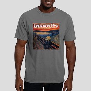 3pilw-munche-scream Mens Comfort Colors Shirt