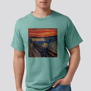 3pilwNtxt-munche-scream. Mens Comfort Colors Shirt