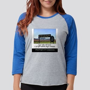 COVERfallharvestback Womens Baseball Tee
