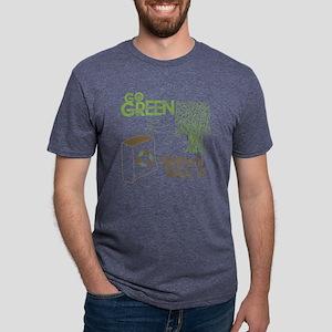 GoGreenBag Mens Tri-blend T-Shirt