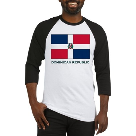 Flag of The Dominican Republi Baseball Jersey