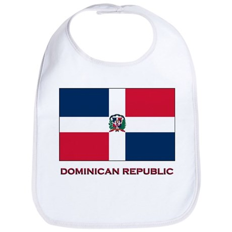 Flag of The Dominican Republi Bib