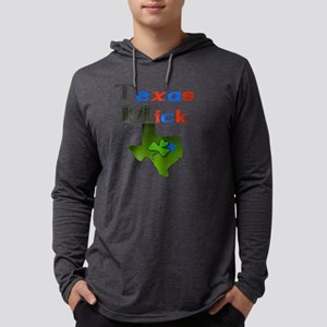 Texas Mick Mens Hooded Shirt