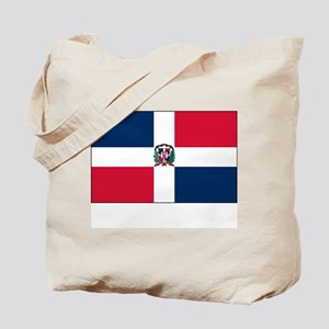 The Dominican Republic Flag Picture Tote Bag