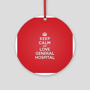 K C Love General Hospital Ornament (Round)