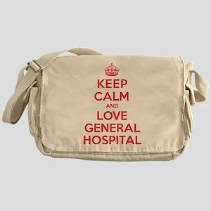 K C Love General Hospital Messenger Bag
