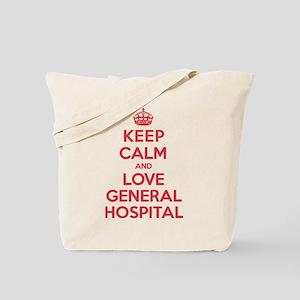 K C Love General Hospital Tote Bag