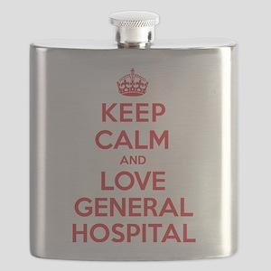 K C Love General Hospital Flask