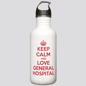 K C Love General Hospital Stainless Water Bottle 1