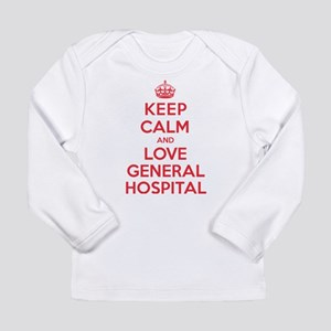 K C Love General Hospital Long Sleeve Infant T-Shi