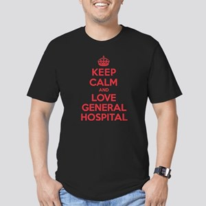 K C Love General Hospital Men's Fitted T-Shirt (da
