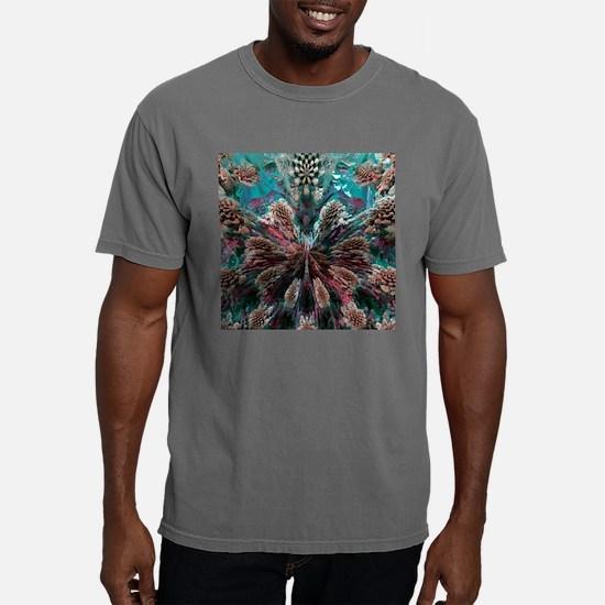 Mandelbulb fractal Mens Comfort Colors Shirt