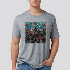 Mandelbulb fractal Mens Tri-blend T-Shirt