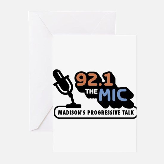 92.1 The Mic Greeting Cards (Pk of 10)