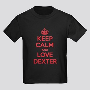 K C Love Dexter Kids Dark T-Shirt
