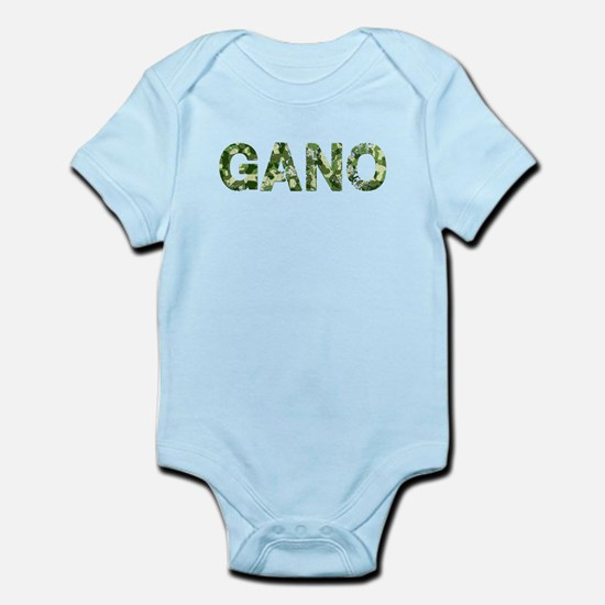 Gano, Vintage Camo, Infant Bodysuit