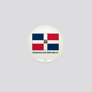 The Dominican Republic Flag Stuff Mini Button