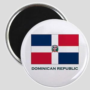 The Dominican Republic Flag Stuff Magnet