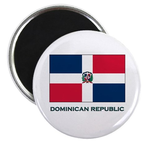 The Dominican Republic Flag Stuff Magnet