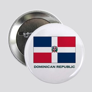 The Dominican Republic Flag Stuff Button