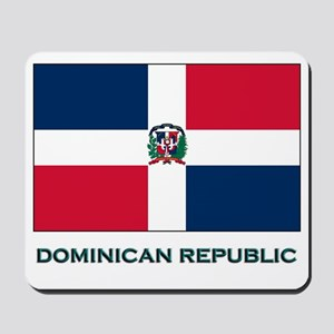The Dominican Republic Flag Stuff Mousepad