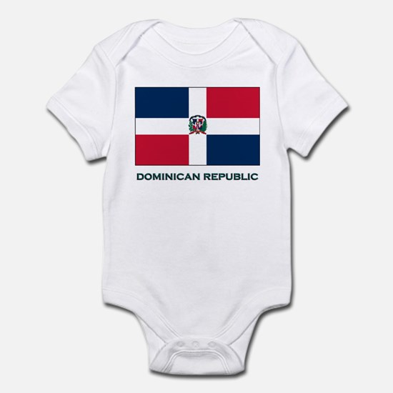 The Dominican Republic Flag Stuff Infant Bodysuit