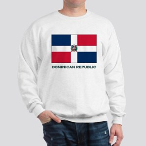 The Dominican Republic Flag Stuff Sweatshirt