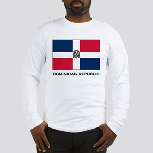 The Dominican Republic Flag Stuff Long Sleeve T-Sh