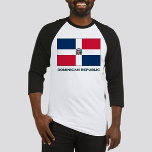 The Dominican Republic Flag Stuff Baseball Jersey