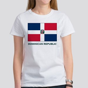 The Dominican Republic Flag Stuff Women's T-Shirt