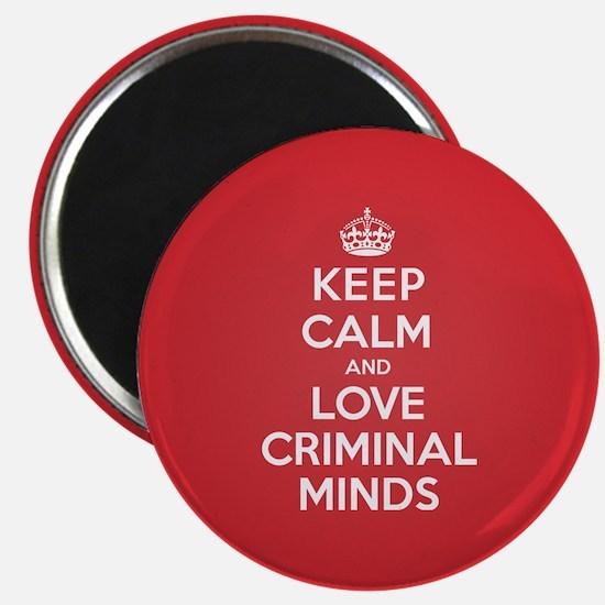 K C Love Criminal Minds Magnet