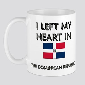 I Left My Heart In The Dominican Republic Mug