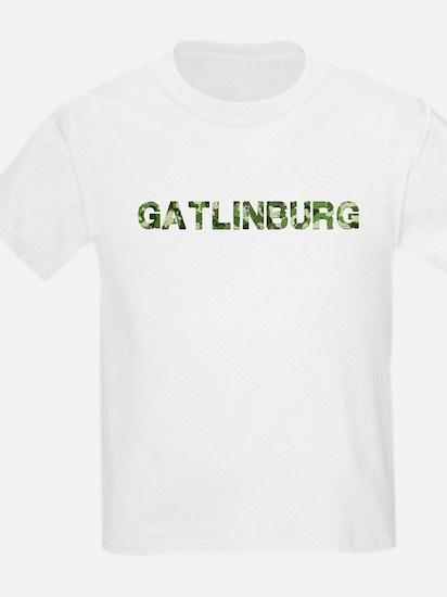 Gatlinburg, Vintage Camo, T-Shirt