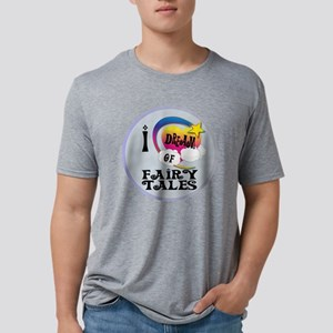I Dream of Fairy Tales Mens Tri-blend T-Shirt